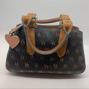 Dooney & Bourke Mini Bag DB Logo Purse Leather
